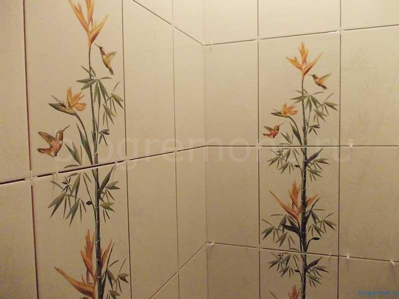 бамбук с листьями