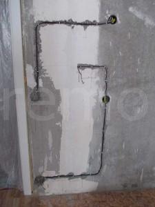 проводка в бетоне
