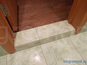порог для ванной