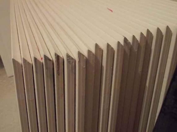 плитки с запиленными углами