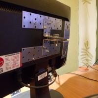 как сделать кронштейн для монитора