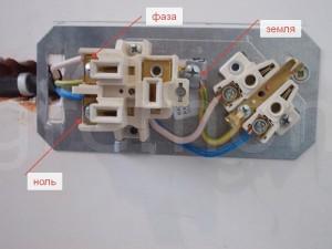 подключение проводов в роязетке для варочной панели