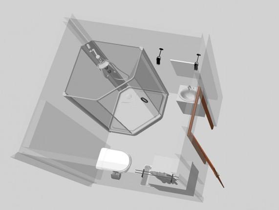 proekt vannoj komnaty 3D